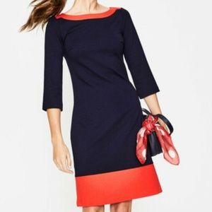 Boden 10 Siobhan ponte dress